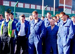 Workers locked in workshops during Lukashenka�s visit