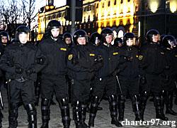 March 25. Minsk. Dictatorship's scare (Photo, video)