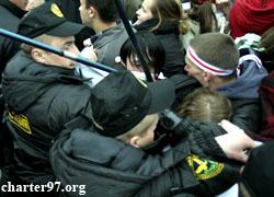 Фашизм в Минске: Жестоко разогнана акция солидарности  (Обновлено, фото)