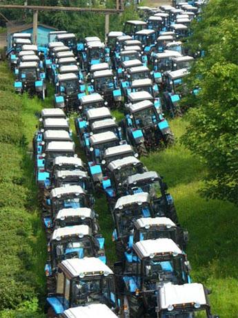Минский тракторный завод готовится перейти на трехдневную рабочую неделю.