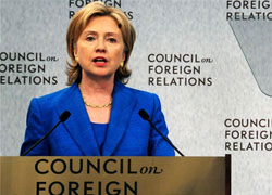 Hillary Clinton insists on democratic reforms in Belarus