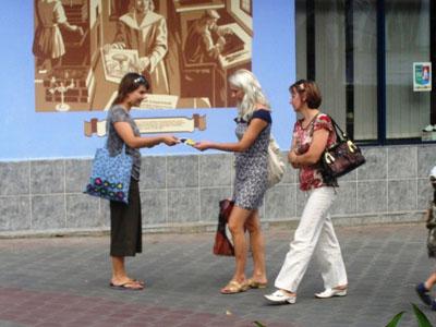 В Бресте прошла акция с требованием отмены смертной казни