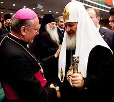 Митрополит Кондрусевич встретился с Патриархом Кириллом