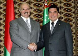 Lukashenka off to Turkmenistan on official visit