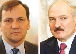 Сікорскі незразумела пра што «дамовіўся» з Лукашэнкам