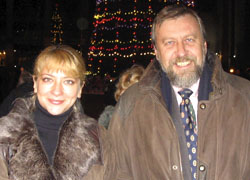 Андрея Санникова и Ирину Халип допросили в милиции
