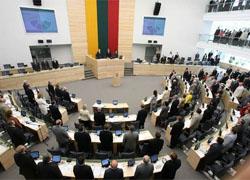 Lithuanian MPs praise Lukashenko