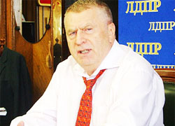 Zhirinovsky offers Belarus and Ukraine to become Russia's districts