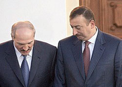 Lukashenka and Aliyev have not agreed on oil?