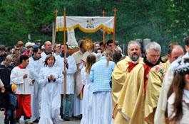 27 мая в Минске состоится процессия Божьего Тела
