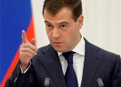 Медведев поднял по тревоге все ведомства