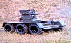 В Беларуси разработали боевого робота «Адунок» (ФОТО, ВИДЕО)