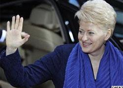 Грибаускайте настаивает на проверке в Минюсте по «делу Беляцкого»