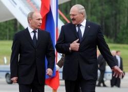 Пуцін узнагародзіць Лукашэнку ордэнам Аляксандра Неўскага