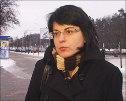 Natallya Radzina left the country