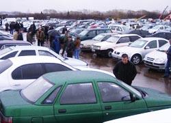 За подержанные авто белорусы расплачиваются золотом