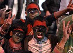 ООН заподозрила Каддафи в использовании детей-наемников