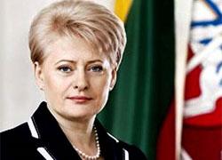 Грибаускайте попросили повлиять на Лукашенко