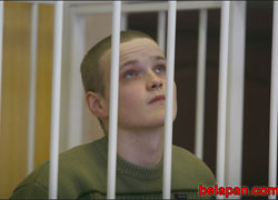 Reprisal: Mikita Likhavid sentenced to 3.5 years of imprisonment