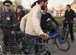 Велопробег посчитали несанкционированным митингом