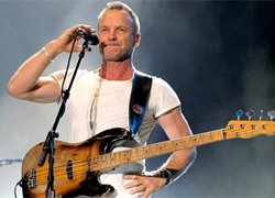 Sting won't come to Minsk