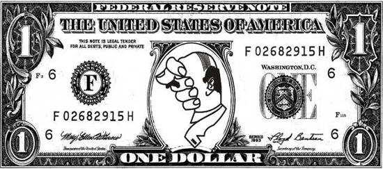 картинки денег распечатать черно белые