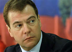 Medvedev will come to Minsk next week