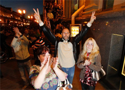 Минск протестует и на «военном» положении (Фото, видео)