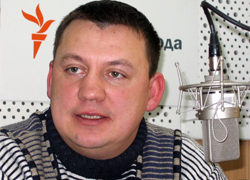 Aliaksandr Makaeu detained