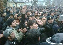 В Азербайджане вспыхнули стихийные протесты (Фото, видео)