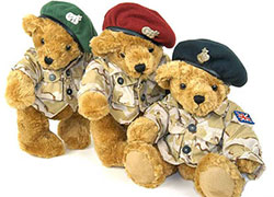 Teddy bear landing force from Östgruppen
