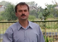Aliaksandr Mekh detained in Kobrin