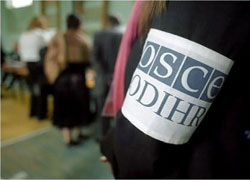 ODIHR mission is �allowed� to the count of votes