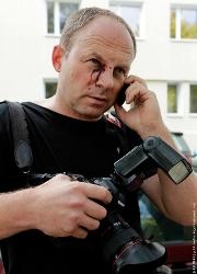 Журналист Сергей Гриц снял побои и написал заявление в милицию