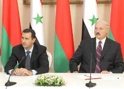 Syrians calls for sanctions against Lukashenko for support Assad