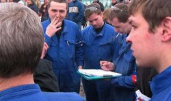 Рабочих натравливают на независимые профсоюзы