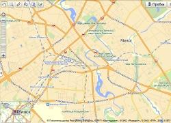 Яндекс карты карту белоруссии