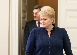 Grybauskaitė: �You make the speculations yourself