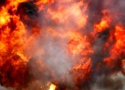 Выбух каля КДБ у Віцебску: затрыманыя трое (Фота)