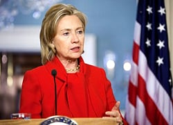 Hillary Clinton: US continues to support freedom fighters in Belarus