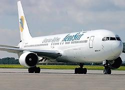 Украинскому «Аеросвiту» запретили летать в Беларусь