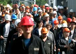 Granit plant workers support Kovry Brest factory workers