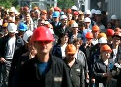 Найбуйнейшыя заводы Магілёва спынілі працу