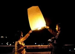 Freedom Lanterns in support of political prisoners
