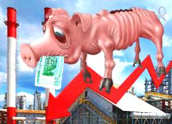 Прибыль белорусских предприятий упала на треть