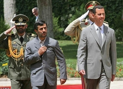 Syrians: Lukashenka - banker of Assad and Ahmadinejad