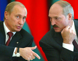 Putin asks Lukashenka not to violate Russia's sanctions?