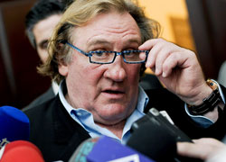 Ministry of Internal Affair calls Depardieu to Belarus