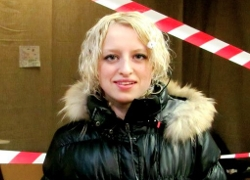 Attack on activist Yulia Styapanava