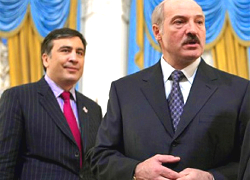 Lukashenka was sent to Saakashvili by Moscow